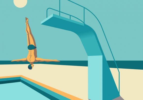 How to Get Over my Fear of Jumping in a Pool
