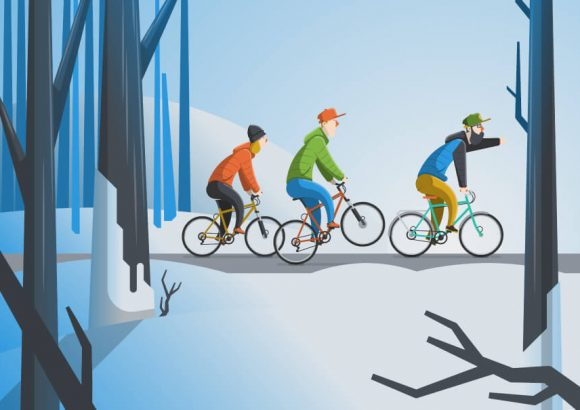 Winter Cycling – How to Ride Bikes in Winter